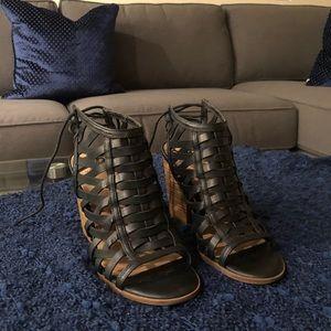 Fergalicious Block Heel Sandals 👡
